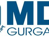 Official Logo of Management Development Institute, Gurgaon.