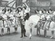 Coppelia -Slavik Dance -Empire Theatre -1900
