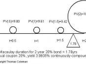 Fig. 1: Macaulay Duration
