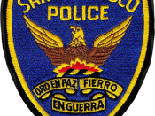 English: Image is similar, if not identical, to the San Francisco Police Department patch. Made with Photoshop.