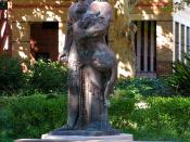 English: Statue of Gilgamesh, University of Sydney, Sydney, NSW, Australia
