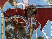 Tiryns chariot fresco