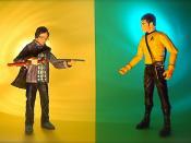 Hiro Nakamura vs. Lieutenant Hikaru Sulu (184/365)