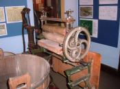English: Mangle at the Somerset Rural Life Museum