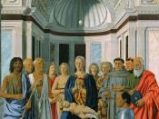 Piero della Francesca: Pala Brera or Madonna and Child with Saints.