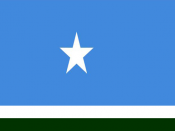 The new regional Flag of Maakhir State of Somalia