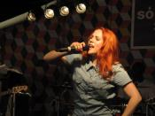 Katy B at Sonar 2011.