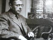 Jean-Paul Sartre (um 1950)