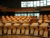 Scottish Parliament seating