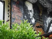 Jacques Derrida, painted portrait _DDC3328