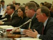 Arthur Andersen witnesses testify at the Subcommittee on Oversight and Investigations of the Committee on Energy and Commerce House of Representatives (107th Congress) hearing on January 24, 2002