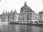 World's Columbian Exposition: U.S. Government Building, Chicago, United States, 1893.
