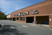 English: Food Lion grocery supermarket, the anchor store of the University Center plaza in Durham, North Carolina.