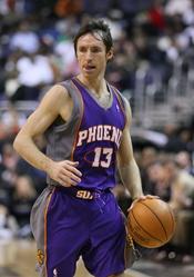 Español: El jugador canadiense de baloncesto Steve Nash.