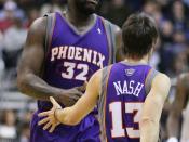 Steve Nash and Shaq