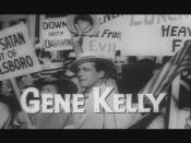 Kelly as Hornbeck in Inherit the Wind