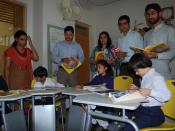 Book distribution to children with special needs at Umeed-e-Noor Center (9)