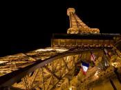 English: The Eiffel Tower of the Paris Las Vegas Hotel and Casino Deutsch: Der Eiffelturm des Paris Las Vegas Hotel und Casinos.