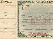 Prescription form for medicinal liquor