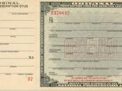 Prescription form for medicinal liquor