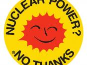 English: Anti nuclear power movement's Smiling Sun logo
