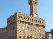 The Palazzo della Signoria, better known as the Palazzo Vecchio (English:The Old Palace)