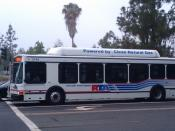 English: Riverside Transit Agency #2144 as route 16 south, at Central & Canyon Crest