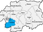 Krupina in the Banská Bystrica Region
