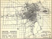 Greater Winnipeg Tentative Airport Plan (1946)