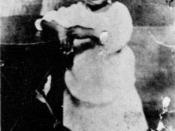 Billie Holiday child, toward 1917 (unknown photographer)