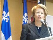 English: The Member of National Assembly of Quebec for the riding of Taschereau, Agnès Maltais. Français : La députée de Taschereau, Agnès Maltais.