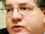 English: René Gauvreau, Parti Québécois member of the Quebec National Assembly for the riding of Groulx. Français : René Gauvreau, député du Parti québécois à l'Assemblée nationale du Québec pour la circonscription de Groulx