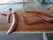 Australian Aboriginal boomerangs