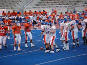 Boise State broncos scrimmage