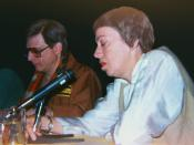 Harlan Ellison and Ursula Le Guin