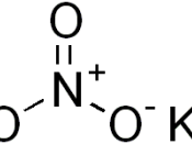 chemical structure of potassium nitrate