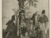 English: French prolitical cartoon of Charles Eugène de Lorraine (1751-1825), prince de Lambesc. Anonymous aquatint. Library of Congress description :