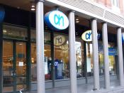Albert Heijn supermarket in Amsterdam.