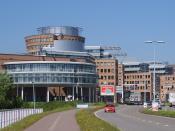 Headquarters (HK96) of Albert Heijn in Zaandam.