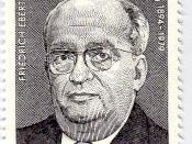 Deutsch: DDR-Briefmarke von Friedrich Ebert junior