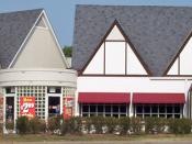 Photo du premier restaurant du Colonel Sanders, fondateur de KFC