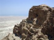 Masada, Israel.
