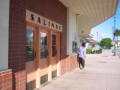 English: Train station in Salinas, California.