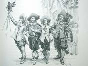 English: The Three Musketeers by Alexandre Dumas (illustration of the Appleton edition).