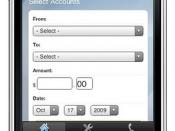 USAA iPhone - Transfer Funds