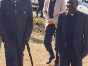 English: Archbishop Tutu of South Africa