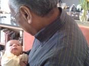 Grandparents Virji visit Laila