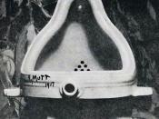 Photograph of Marcel Duchamp's