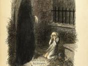The Last of the Spirits, from Charles Dickens: A Christmas Carol. In Prose. Being a Ghost Story of Christmas. With Illustrations by John Leech. London: Chapman & Hall, 1843. First edition.