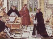 Martin Luther and Cardinal Cajetan.